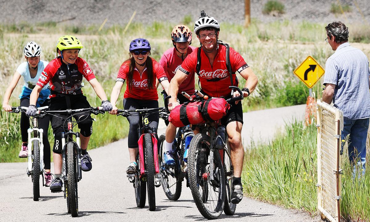 Local bicyclist passes through Butte on Tour Divide