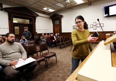 Butte residents speak during zoning meeting