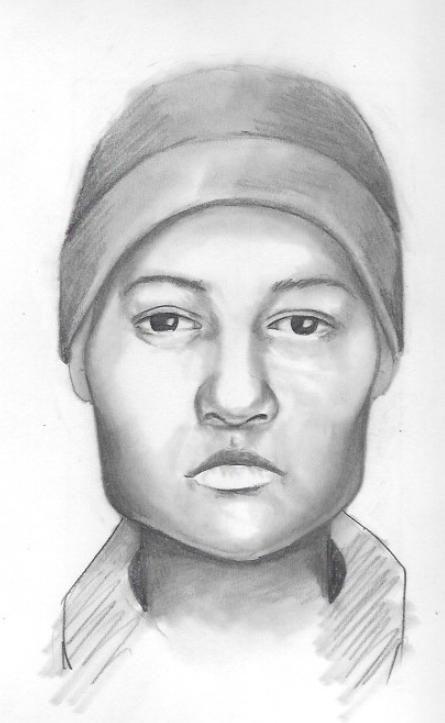 Composite sketch of homicide suspect.