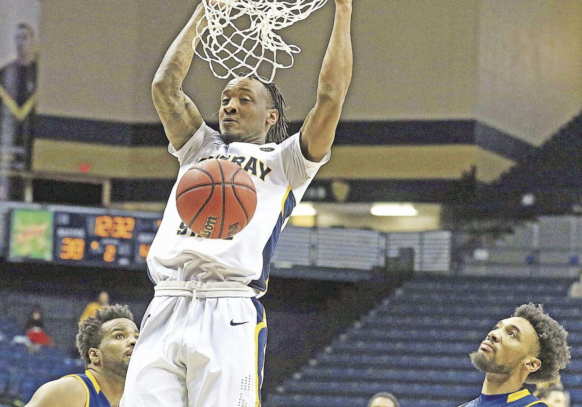 Morehead snaps Racers' home streak