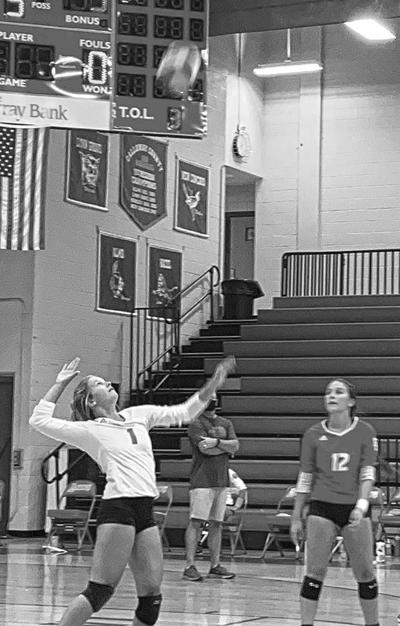Calloway volleyball spikes Trigg County