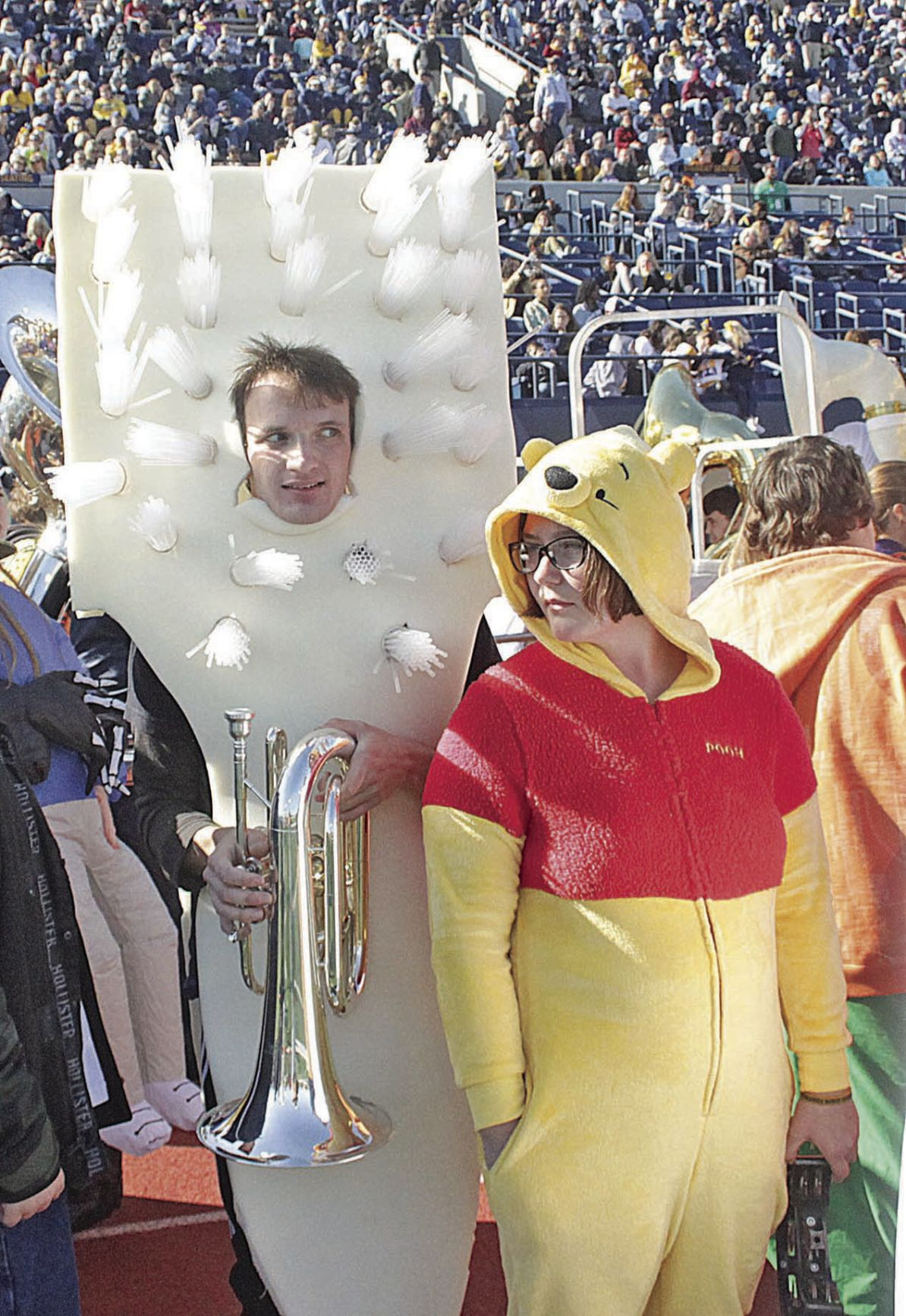 Band Day costumes