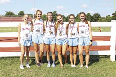 Girls place fifth at Calloway Invite
