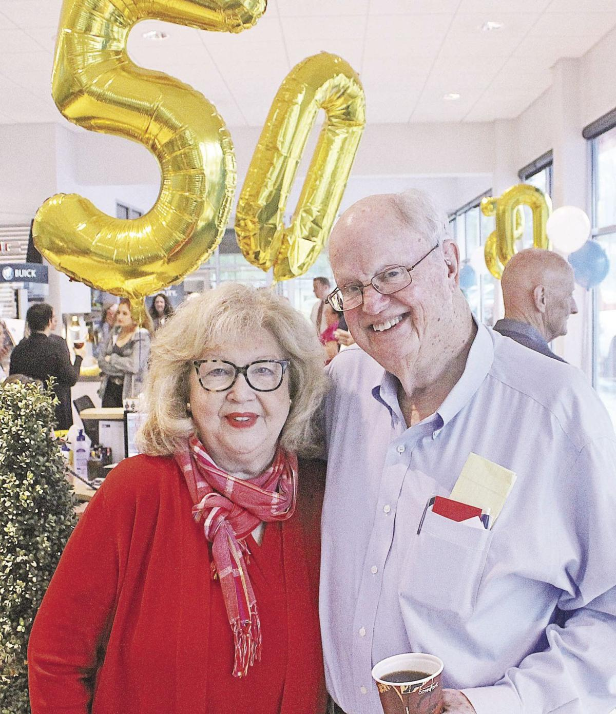 Dwain Taylor 50 years Dwain and Mary