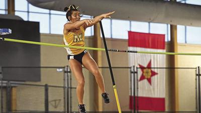 Misukonis breaks school record