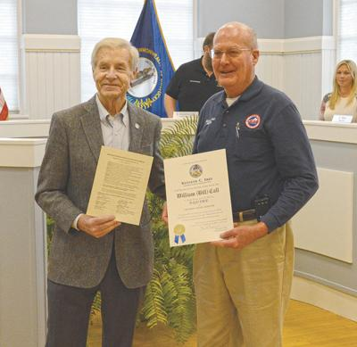 Call honored at Fiscal Court