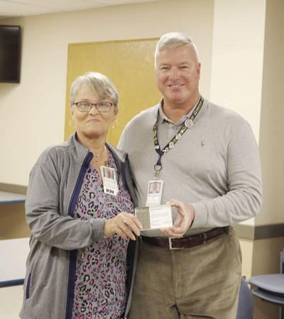 Thorn recognized for 40 years at MCCH
