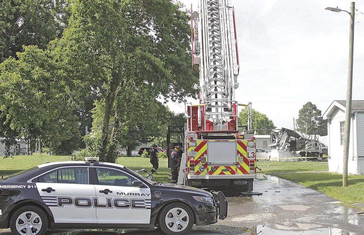 Fatal Fire scene