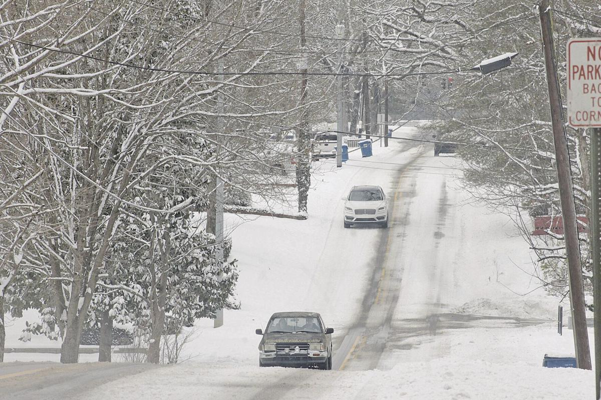 Snow scenery shot