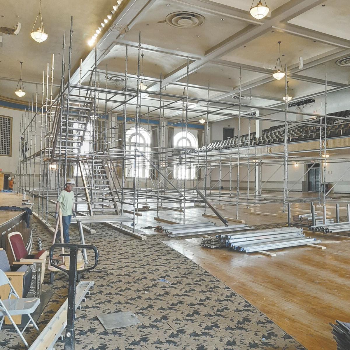 Lovett renovations