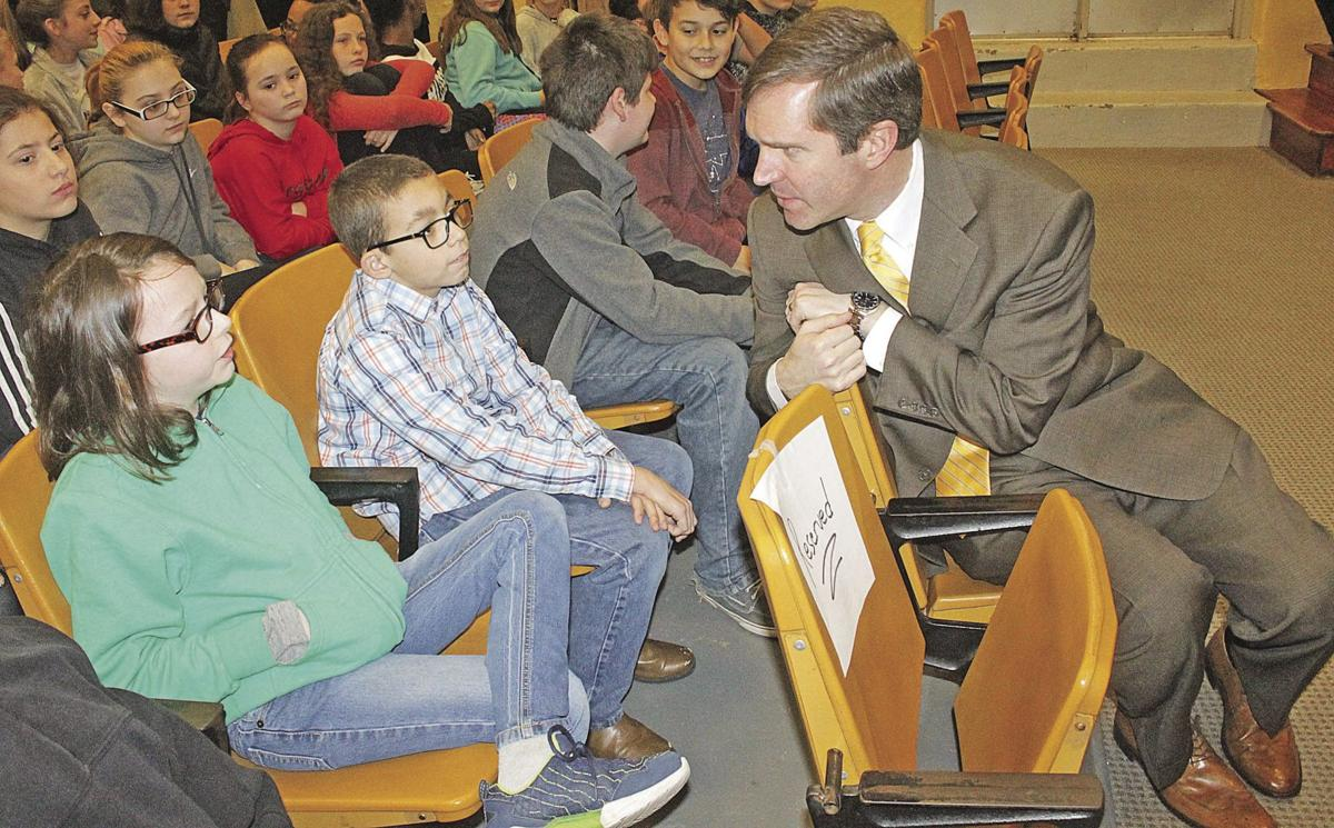Beshear at Murray Middle