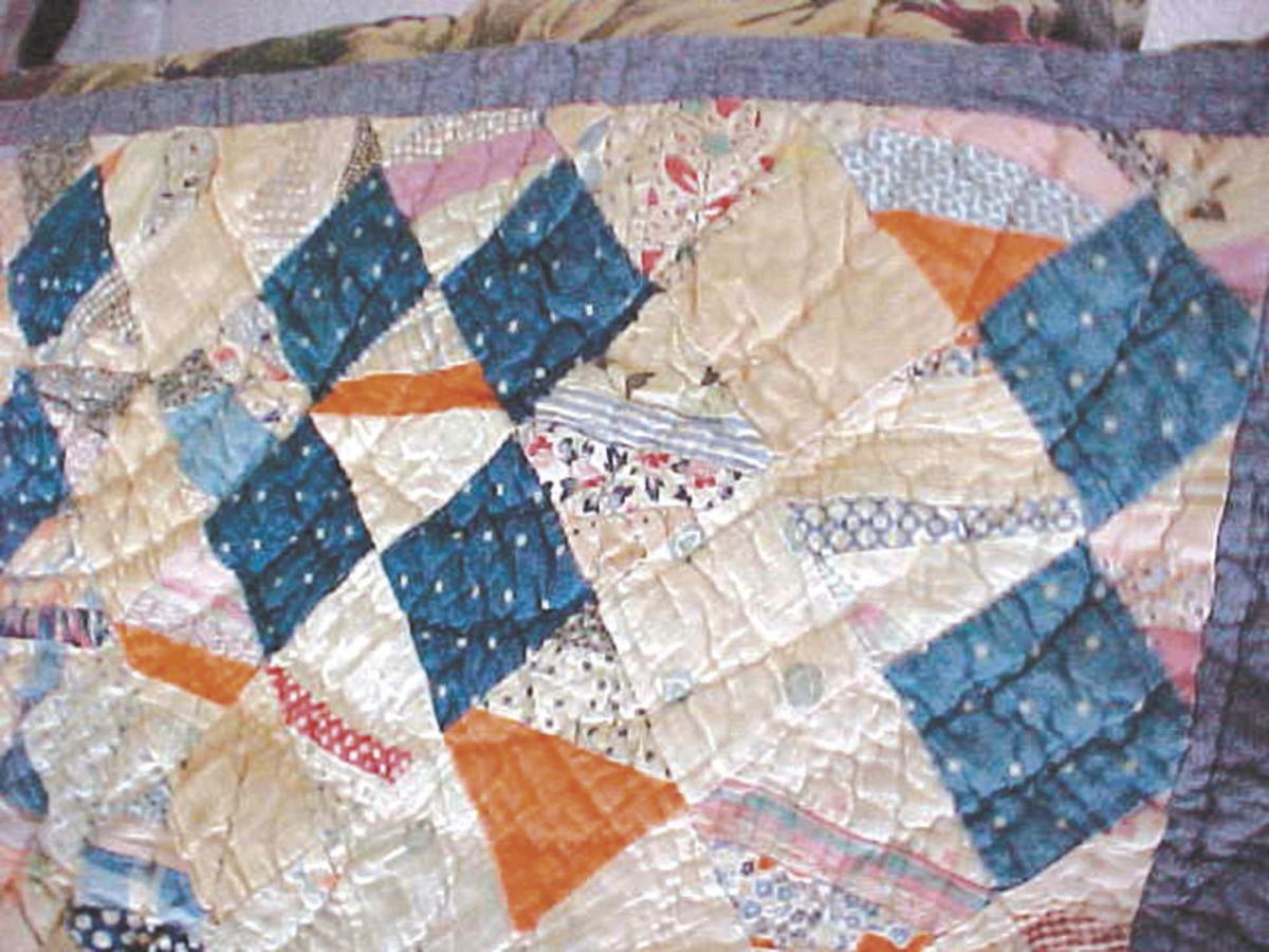Four-Patch quilt
