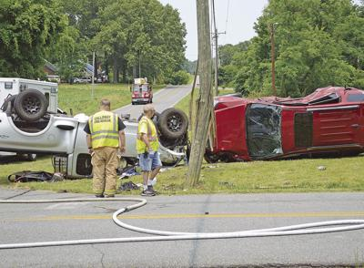 KSP reports 3 injuries from Monday afternoon wreck near
