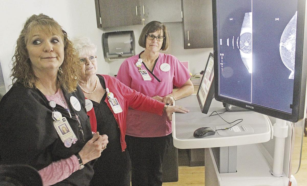 3D mammography open house