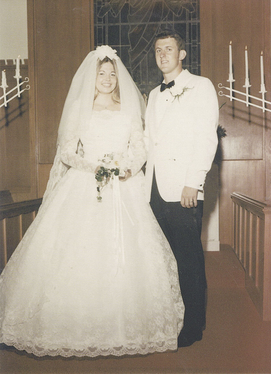 Mr. and Mrs. Guinn Jones 1969