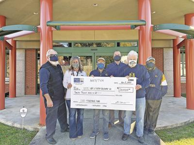 Murray Electric United Way donation