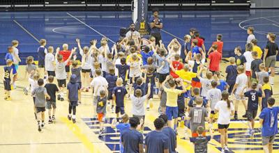 Racer basketball camp draws a crowd