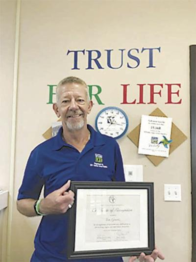 Grantz receives award from Donate Life Kentucky