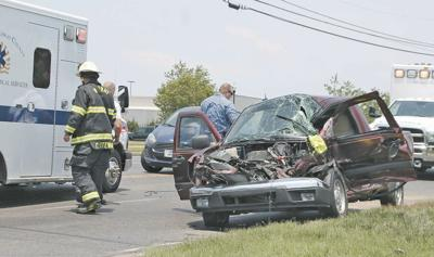 Agencies respond to  2-vehicle injury collision Friday afternoon