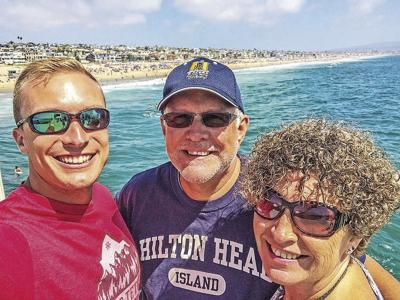Welch family in California