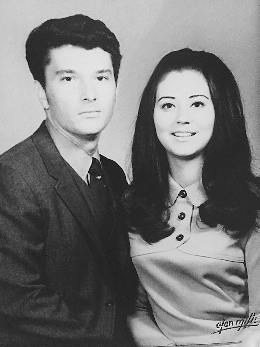 Mr. and Mrs. Don Roberson 1969