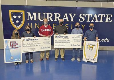 The Murray Bank Spirit Card donation