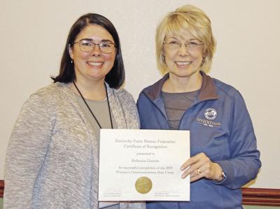 Geurin honored by Farm Bureau