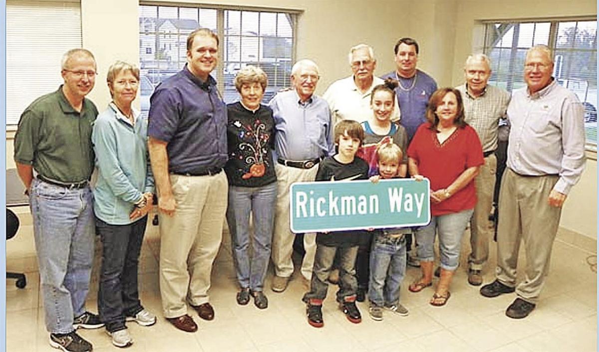 Rickman Way dedication