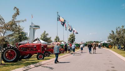 Discovery Park tractor show