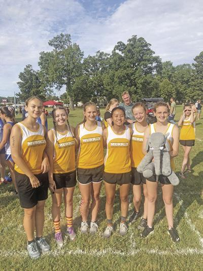 Murray High cross country varsity girls