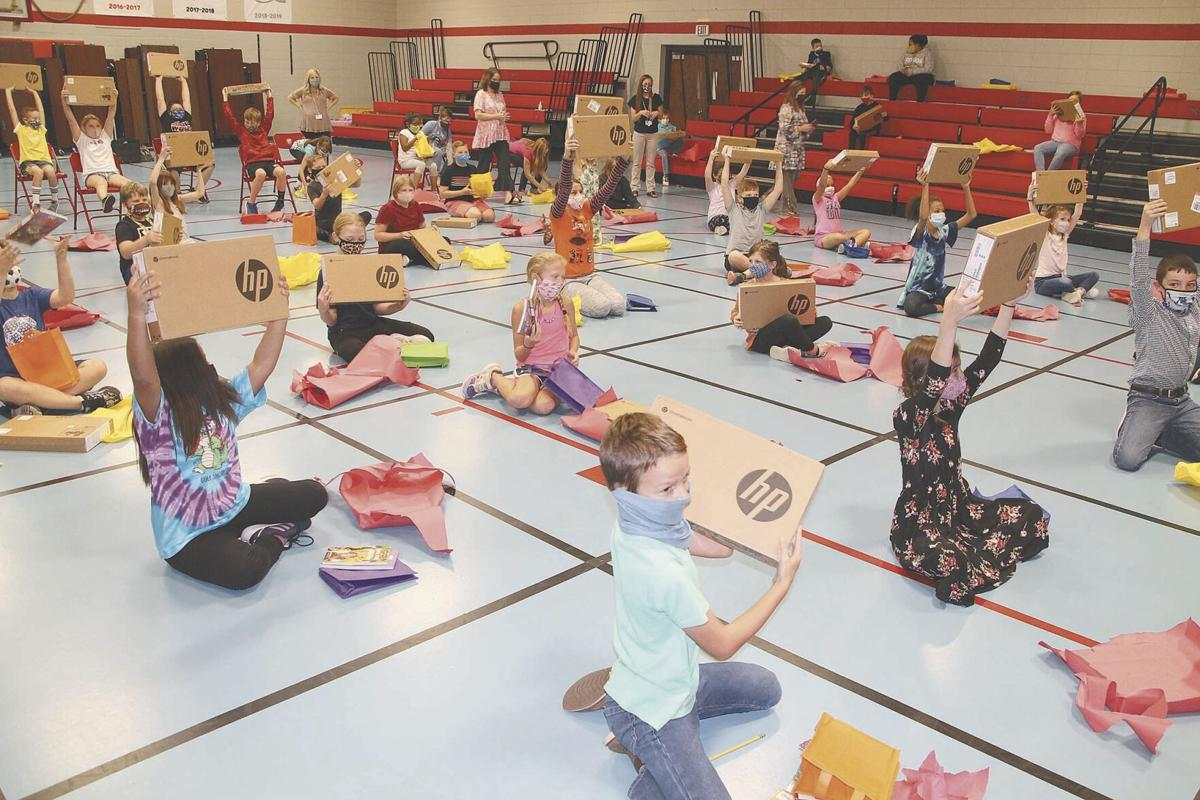 North students enjoy  gifts