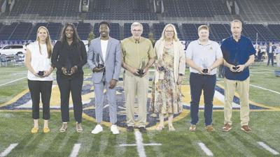 Legends return for MSU Athletics Hall of Fame induction