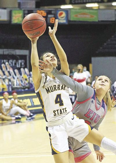 Racer women defend home court in conference win over Eastern Illinois