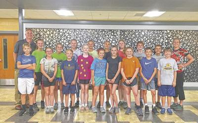 Murray High cross country team