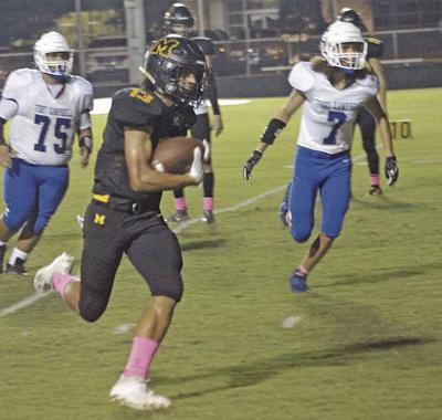 Murray High over Fort Campbell