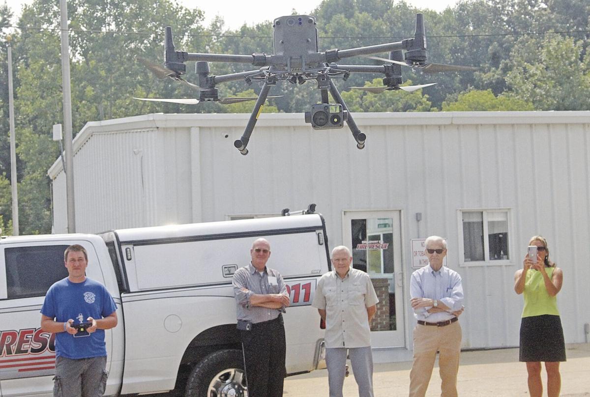 CCFR drone