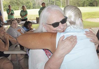 Harrington tournament Pat gets a hug