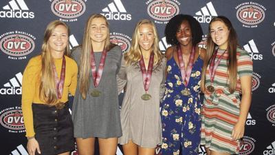 Racers earn OVC honors