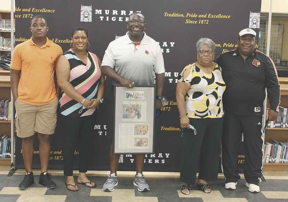 Payne honored by MHS Alumni Association
