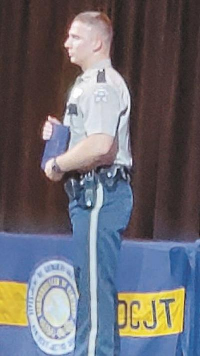 Deputy graduates with honors from law enforcement academy