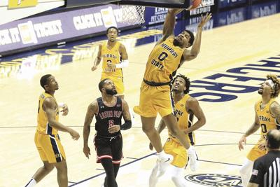 Racer men trounce Austin Peay in 30-point victory