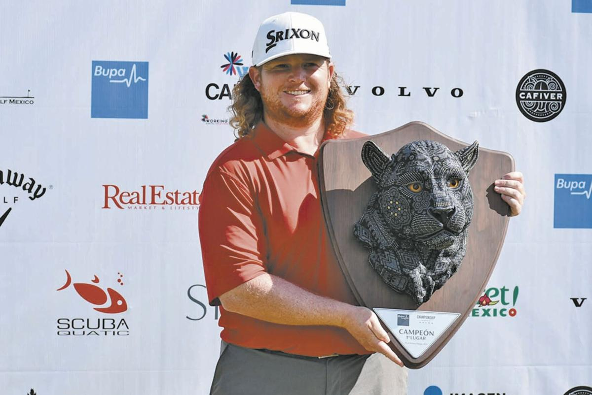 Former Racer Patrick Newcomb wins again on PGA Tour Latinoamerica