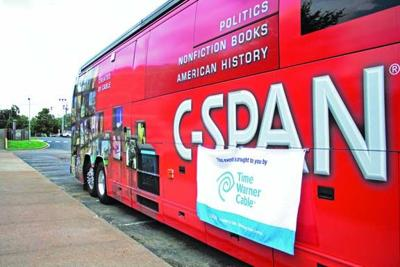 GSP students get chance to examine C-SPAN bus up close | News