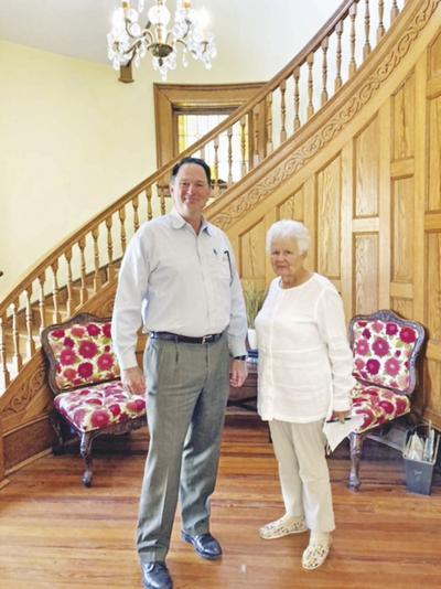 Counselor visits lawmakers