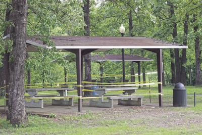 Parks still closed