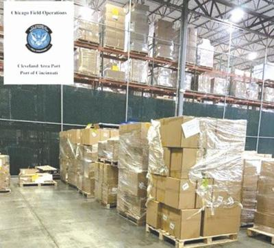 Counterfeit pandemic supplies intercepted by Customs