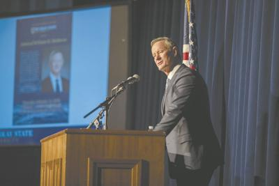 McRaven speaks to campus for Presidential Lecture Series