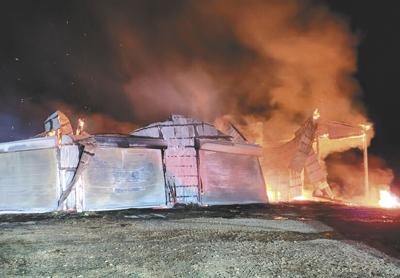 CCFR responds to tobacco barn fire