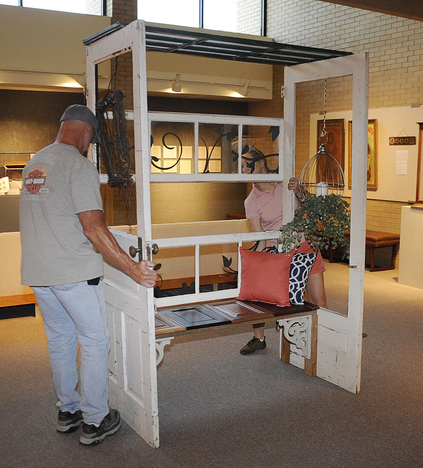 MAC reimagined Cooper Exhibition of repurposed doors