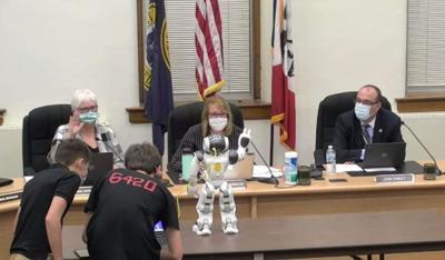 MILES meets the school board